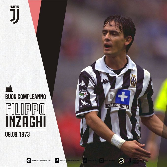Happy 46th Birthday to Filippo Inzaghi!  Auguri Superpippo!