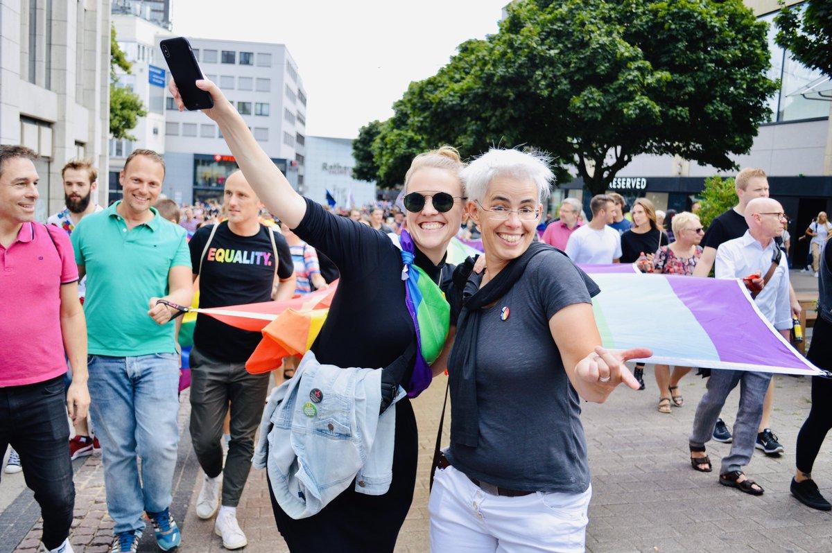 Pride at home 🌈💖✨😘 #RuhrCSD