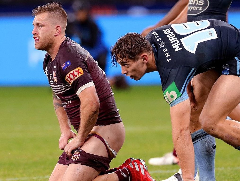 Hunky Aussie Rugby Player Wolfman Admits He Loves