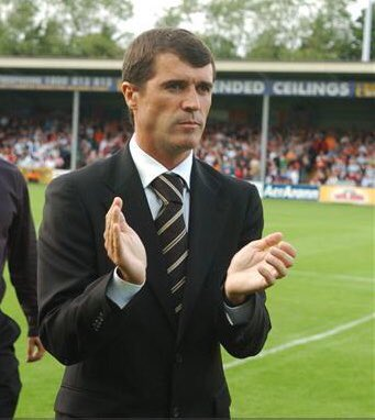Happy Birthday to Roy Keane, this photo was taken at the high point of his managerial career