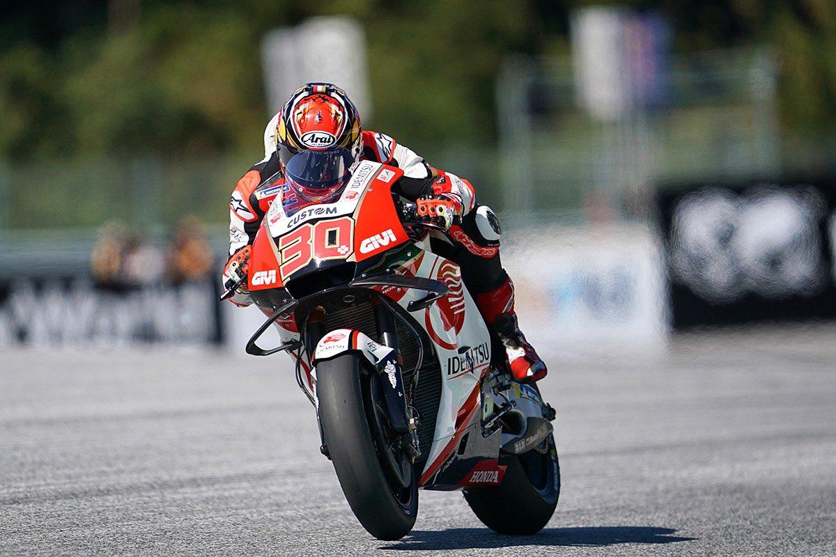 初の2列目!良い走りが出来ました👍🏼 Yes! P6 on the grid for tomorrow race 👍🏼 #AustrianGP #LCRHondaIDEMITSU #MotoGP