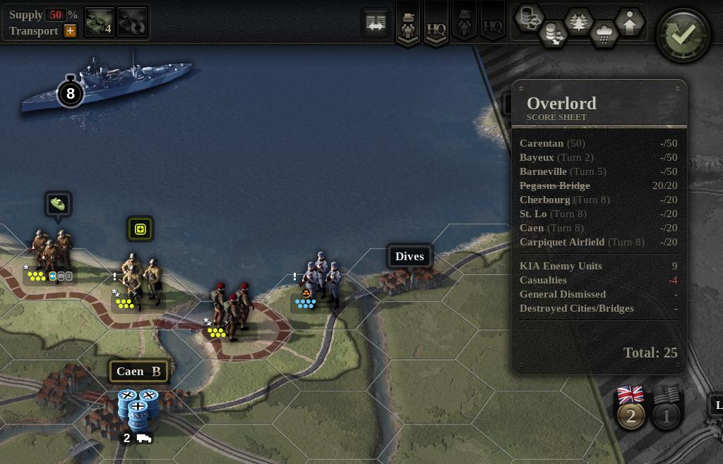 Unity Of Command Pa Twitter Normandy 1944 Opening Hours Of Operation Overlord Note The Zoomed In Map This Particular Player Dropped The 101st Airborne At Pegasus Bridge Top Job Tomislav Uzelac Screenshotsaturday Gamedev