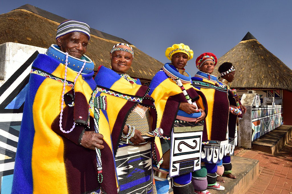 African traditions Ndebele