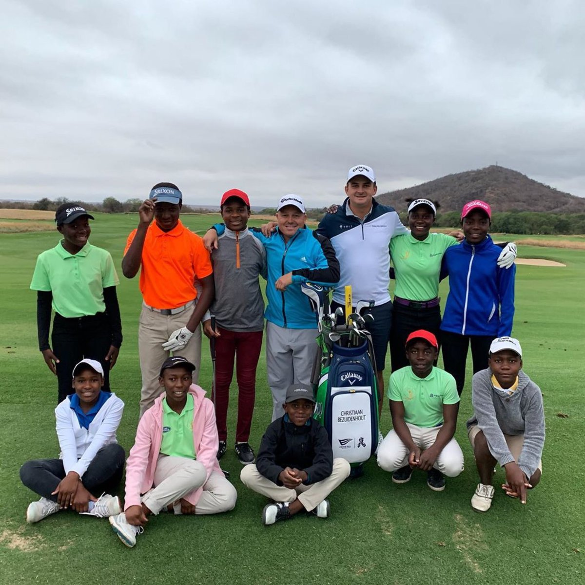 Christiaan Bezuidenhout giving back coaching kids at home in South Africa. @BezChristiaan
