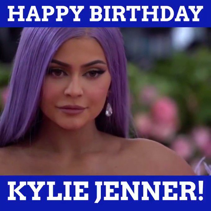 Wishing a very happy 22nd birthday to Kylie Jenner!