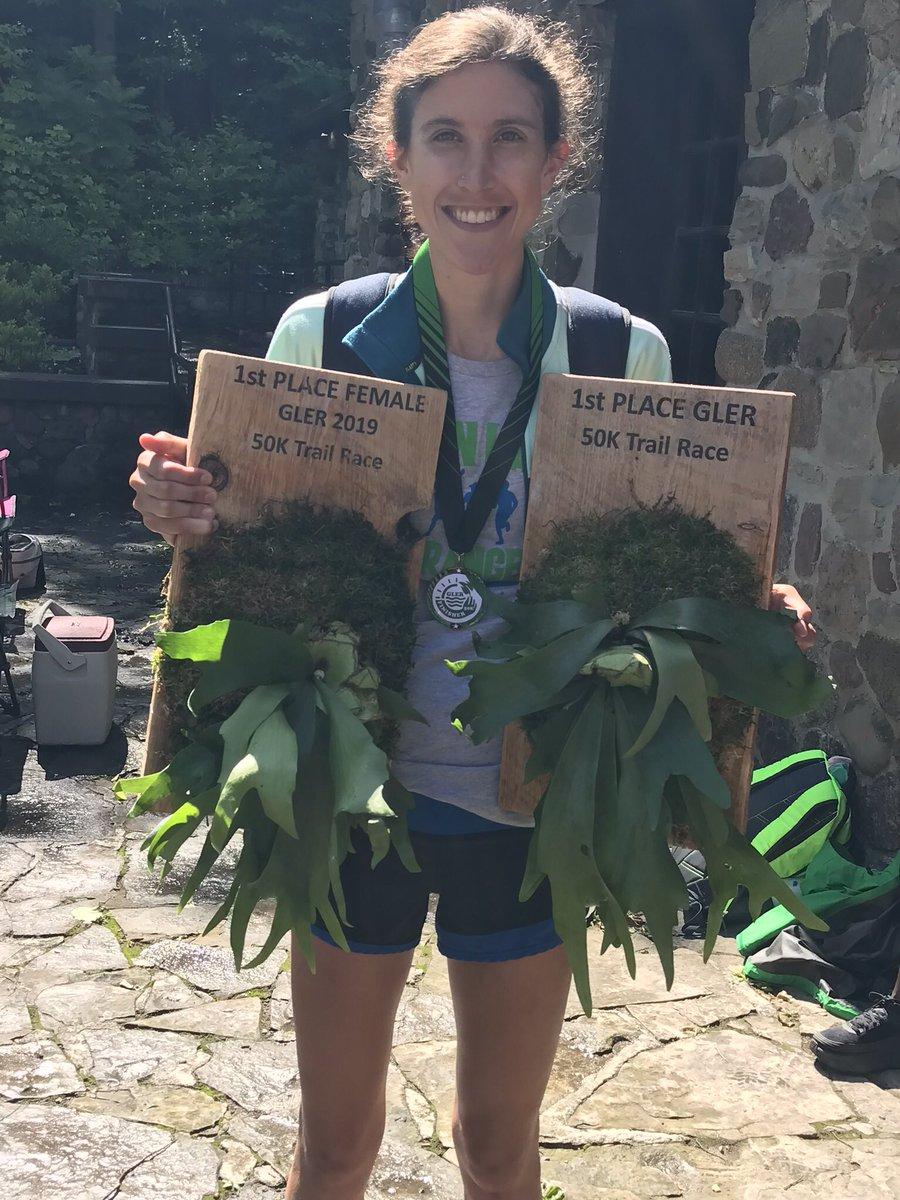 Woman Wins Ultramarathon, Gets Two Trophies