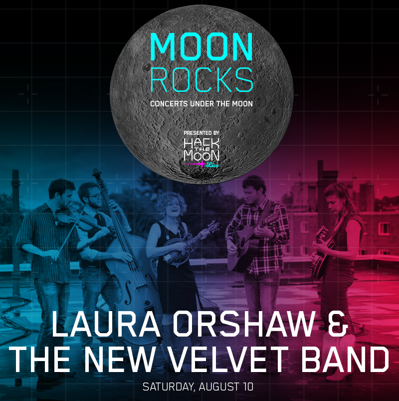 Following a great start to our concert series #MoonRocks last weekend, tonight Laura Orshaw & The New Velvet band take the stage. Music kicks off at 7 PM at @DraperLab! bit.ly/2xlsEmb