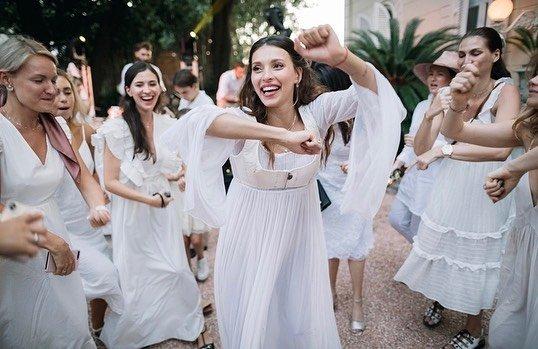 Регина Тодоренко на свадьбе
