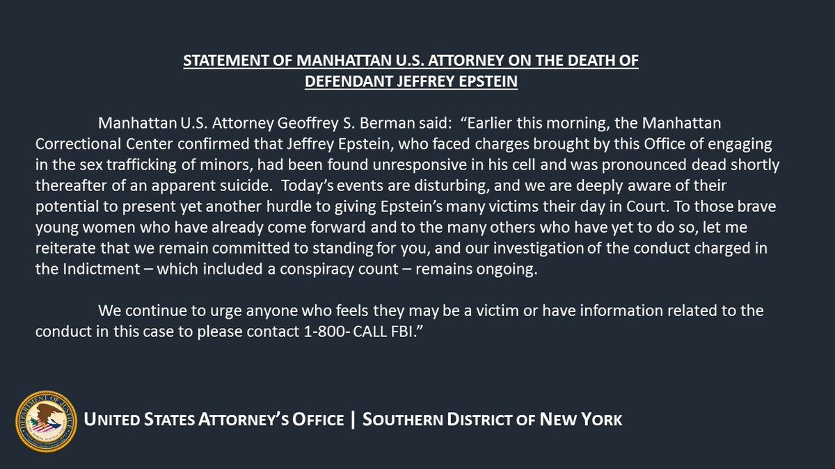 US Attorney SDNY on Twitter: