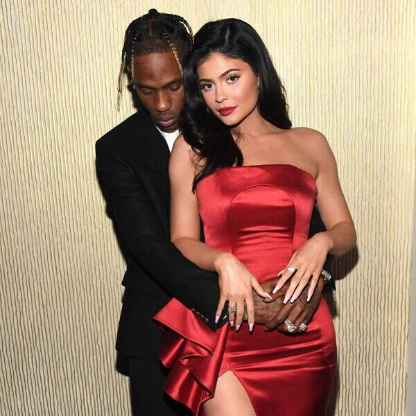 """Travis Scott Gifts Kylie Jenner Major Bling for 22nd Birthday: \""""Happy Bday Wifey\"""""""