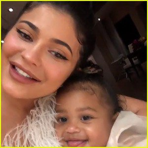 Watch Kylie Jenner s Daughter Stormi Sing Happy Birthday to Her!(Video)