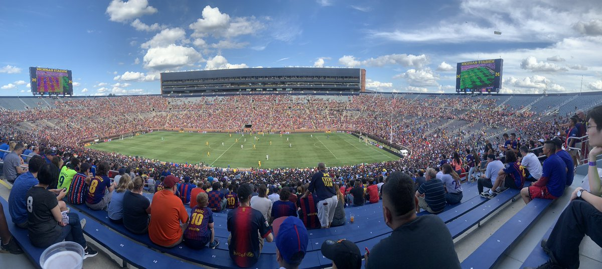 RT @lining_tom: Big House for FC Barcelona vs SSC Napoli https://t.co/IQuZyv56ew