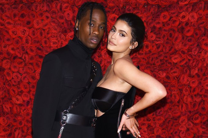 Travis Scott Posts Birthday Tribute to Kylie Jenner: \Happy Bday Wifey\