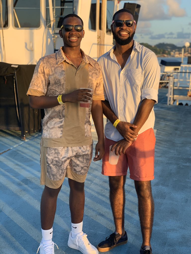 It took 9 years for this reunion, but it was worth it 😭❤ My brother from another mother @Boogz_