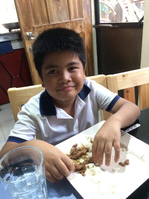 HAPPY BIRTHDAY TO YOU MY BUNSO   YOU ARE A BIG BOY NA