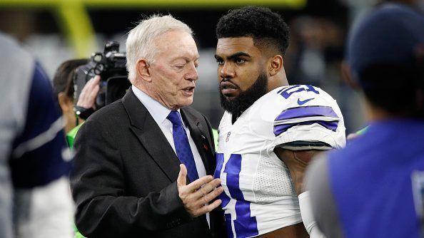 "Jerry Jones: Ezekiel Elliott's holdout is part of the ""ongoingness"" of NFL https://t.co/pKE4TJkr7i https://t.co/5yqJMk2hkK"
