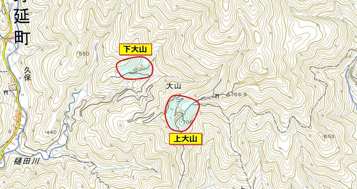 山岳集落と言っても様々な形態がある。険しい地形の広がる山梨県峡南地域にはいくつもの山岳集落が存在し、その多くは家屋が密集しているという特徴を持つ。大山集落も同様に家屋が密集しているが、斜面上にある『下大山』と、山上にある『上大山』に別れている。今回は『上大山』を目指した。