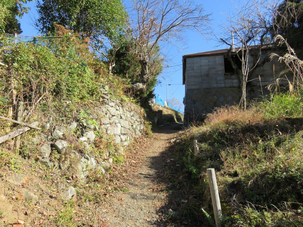 集落駐車場から徒歩道を進むと山上に出る。そこには十数軒の家屋が密集するように立っていた。その軒先を掠めるようにして伸びるメインストリート。いかにも山の上にある集落といった感じだ。放棄された家屋はあるものの、手入れされている家屋も多い。大山集落はまだまだ生きている集落なのだ。