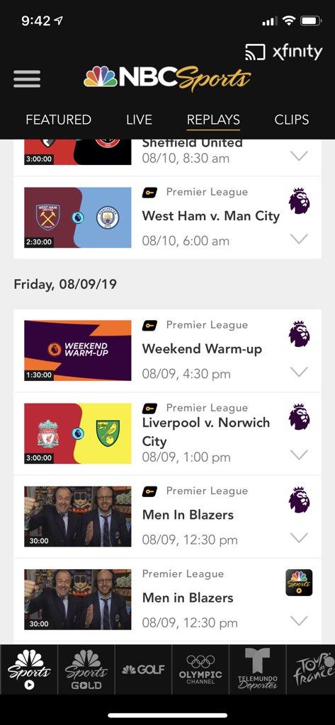 @NoisyPod @NBCSportsSoccer available on the NBC Sports app not Gold.