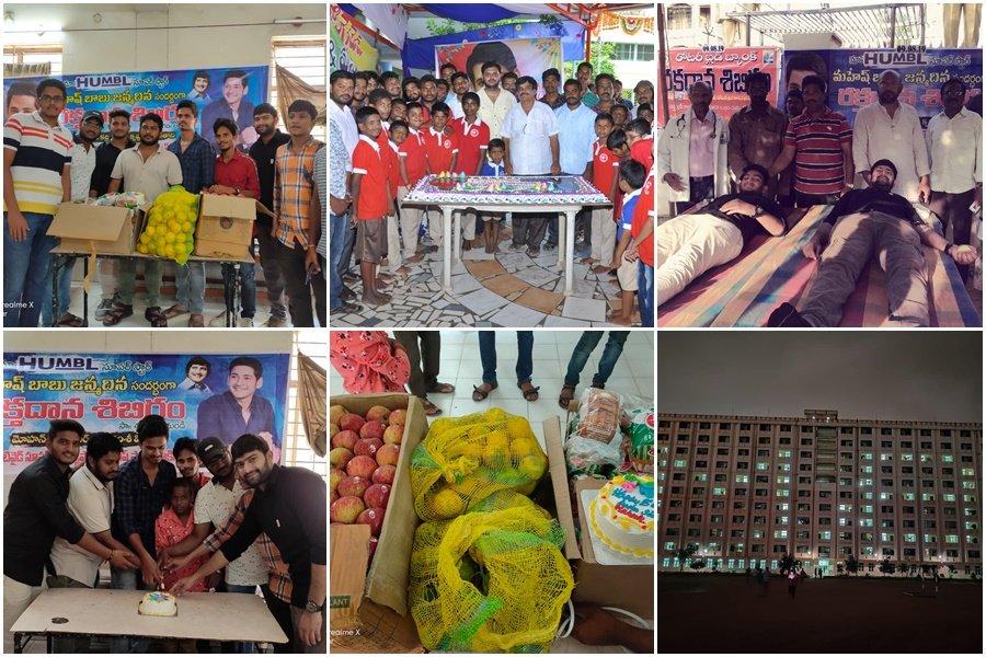 Superstar @urstrulymahesh Birthday Celebrations all over.   Forever Grateful for all the love  #HappyBirthdaySSMB <br>http://pic.twitter.com/1XKHDBqKRI