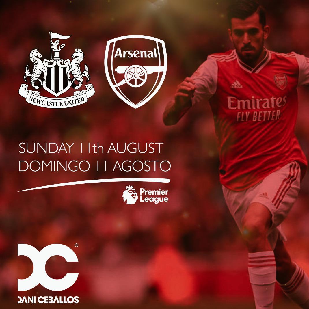 ⚽️💪 MATCHDAY! Vamos @Arsenal ! Let's go Gunners! #PremierLeague #newseason #Gunners #daniceballos8