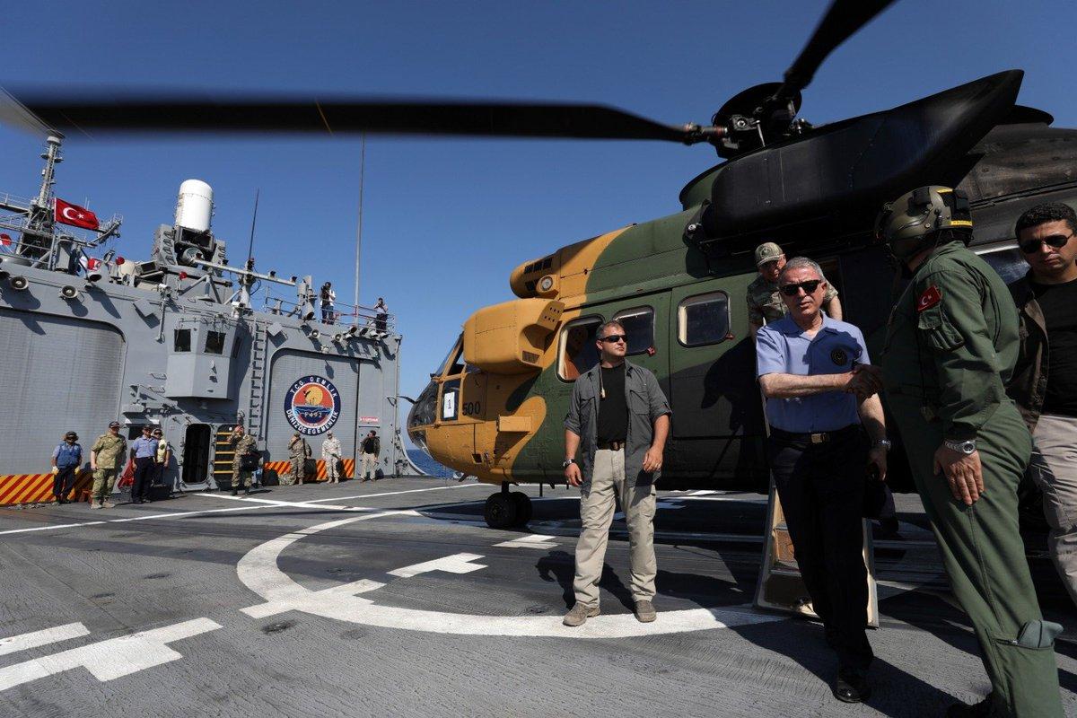 """قبرص تتهم تركيا بتبني """"دبلوماسية السفن الحربية"""" EBrMCrnXYAAoB2L"""