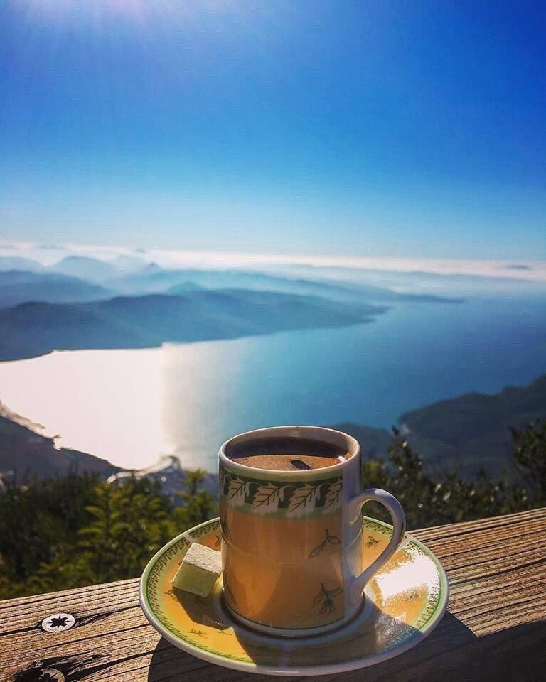 Большие букеты, доброе утро открытка море горы