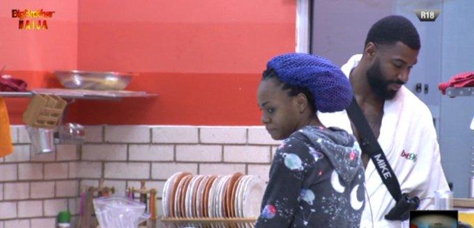 "#BBNaija: ""I Really Like Jackye But She Is In Love With Mike""  - Omashola Tells Khafi (VIDEO)"