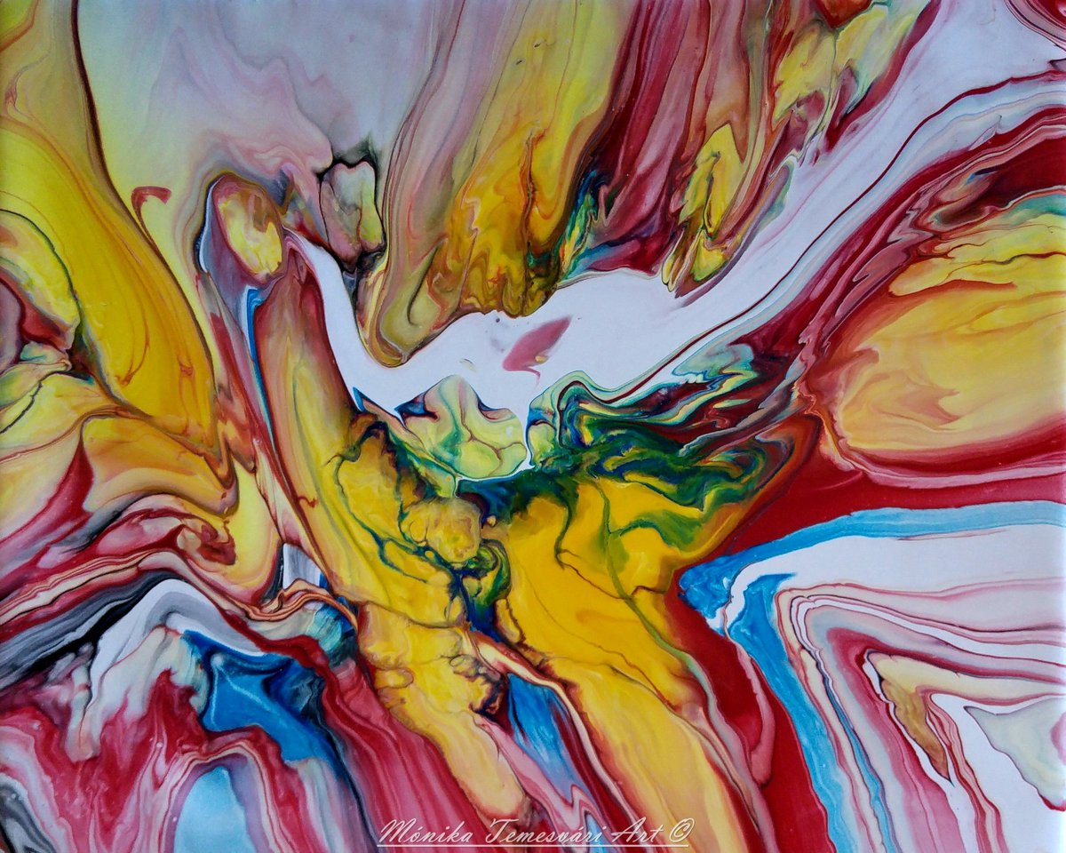 The white elephant, abstract fluid acrylic painting #monikatemesvariart #artist #Hungary<br>http://pic.twitter.com/wlBJgyFfq1