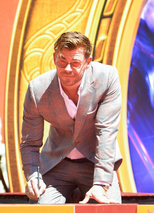Happy birthday to this amazing guy. chris hemsworth, you deserve the best