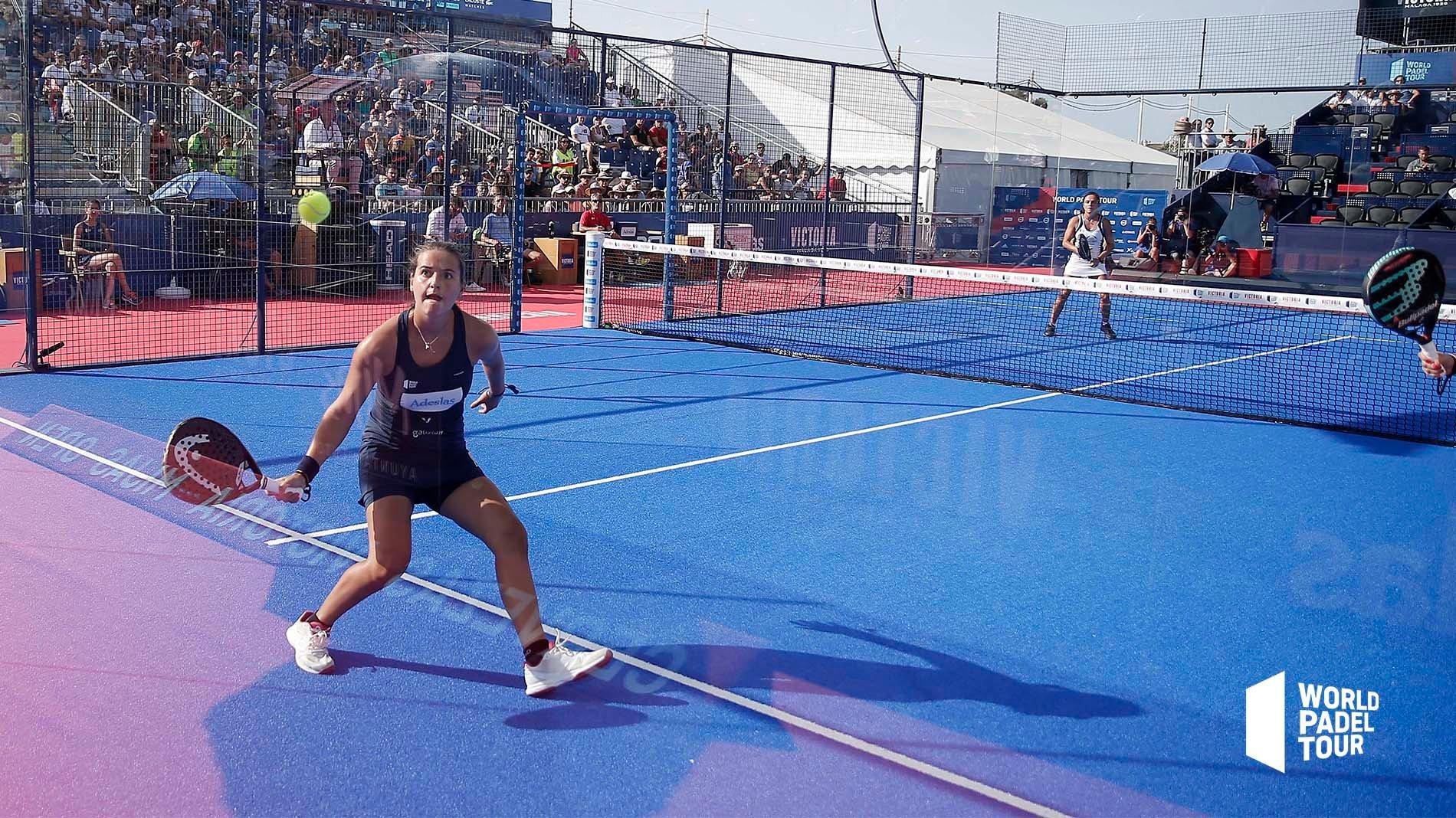 Bajada de pared de Ari Sánchez en el Mijas Open