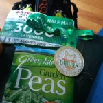 When your mum noticed you icing your leg on Friday so buys you some peas for post race treat.... Irish peas no less.#torqfuelled #PeaRecovery