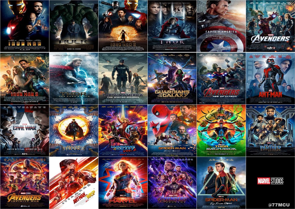 How many Marvel films have you watched in cinema?