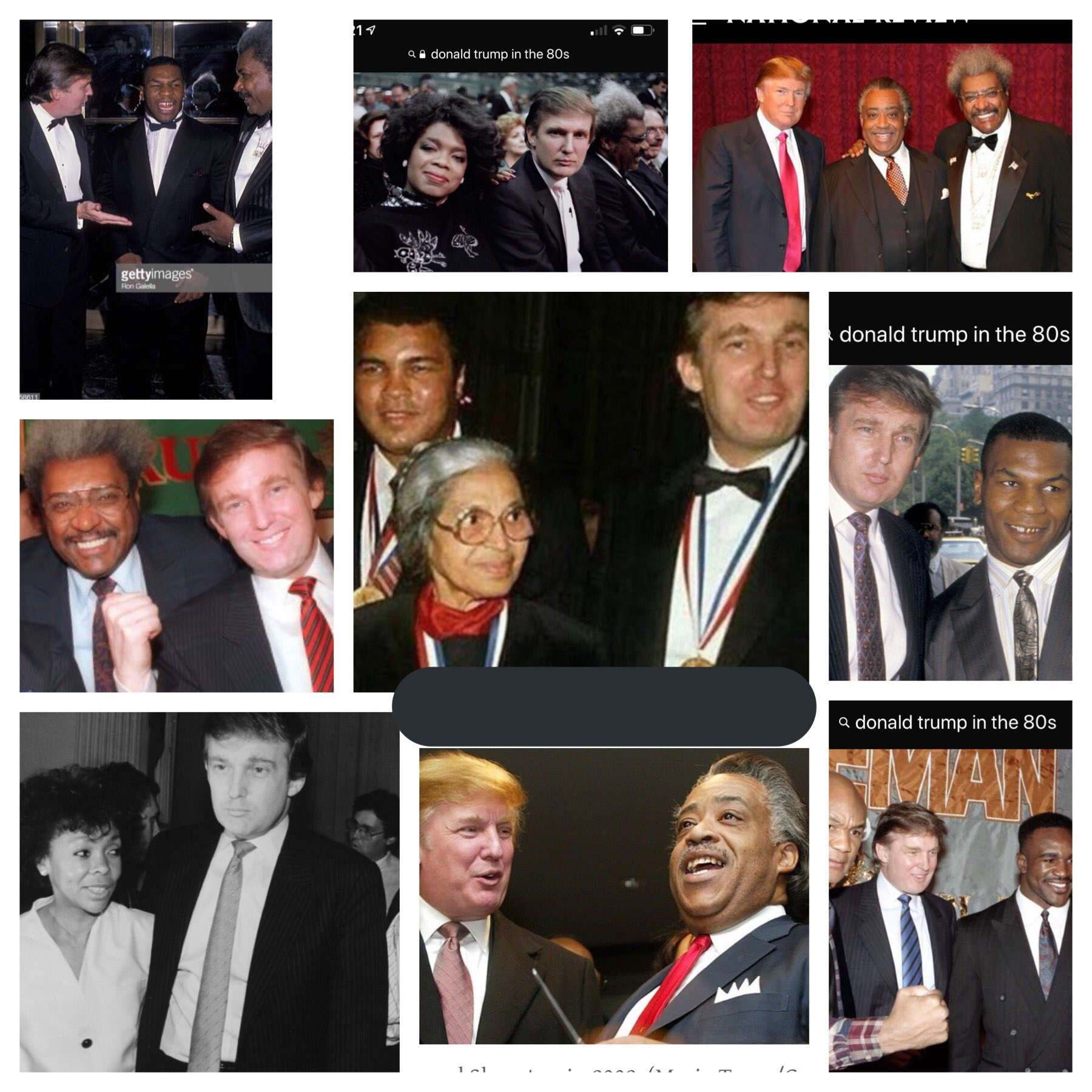 trump wasn't called racist until now - HD1200×1200