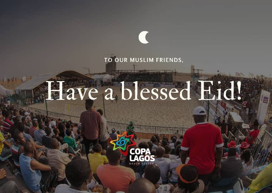 Have a great one! #copalagos #EidAdhaMubarak
