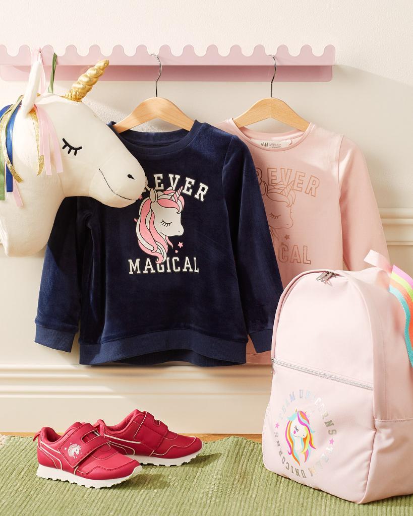 Everybody loves a unicorn! Stock up on kidswear an...