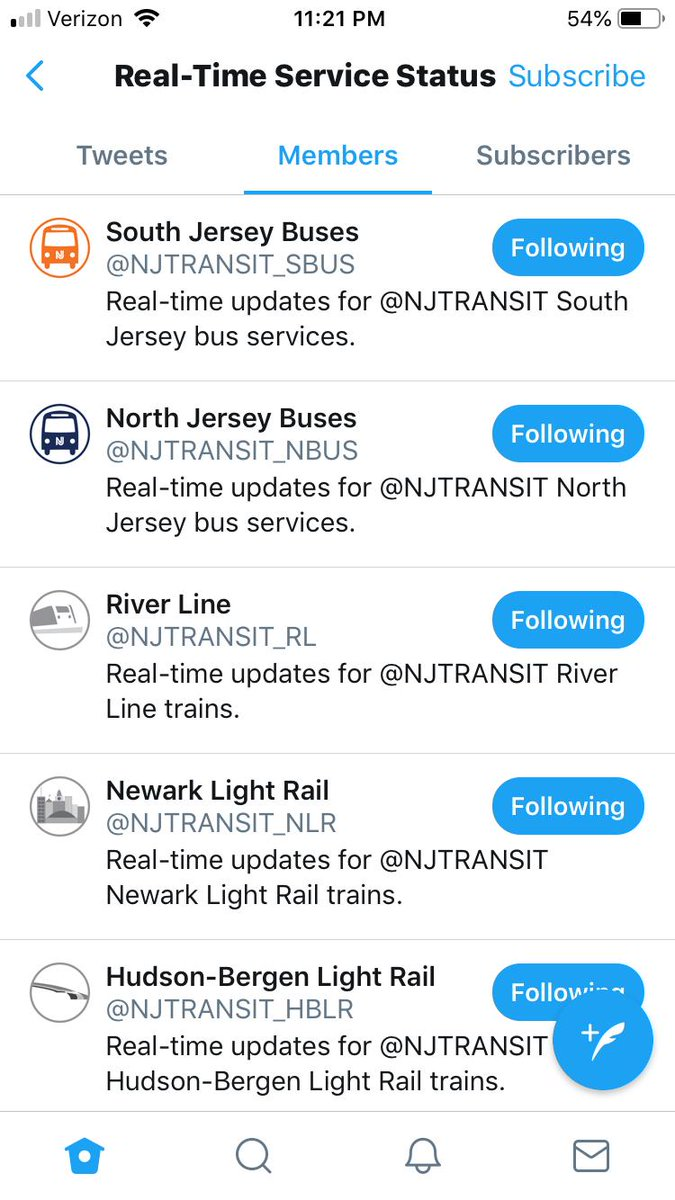 Nj Transit On Twitter For Real Time Service Status On Twitter Follow Our Refreshed Line Accounts Https T Co Jnvkz8evah We Re Refocusing The Njtransit Account To Share News Updates And Initiatives Regarding Our Statewide Transit System