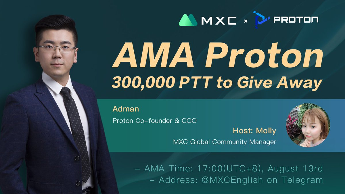 Let's talk it through #AMA on Tue with our COO Adam  #PTT
