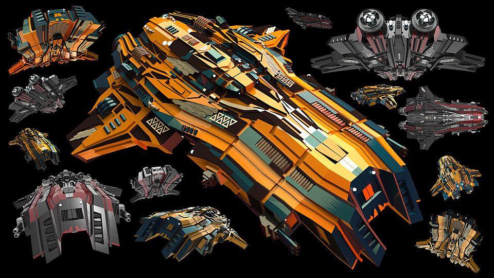 Spaceship Image Pack + 2hr #Tutorial - Great bundle