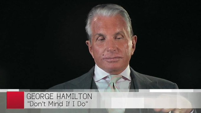 """August 12:Happy 80th birthday to actor,George Hamilton(\""""Home From The Hill\"""")"""