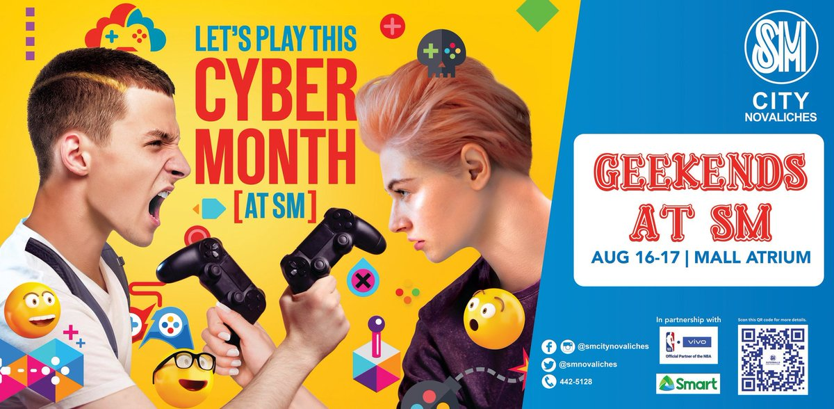 See you guys at SM City Novaliches by August 16-17! ^^