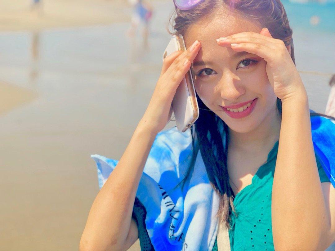 【10期11期 Blog】 海の写真!おださくら:…  #morningmusume19