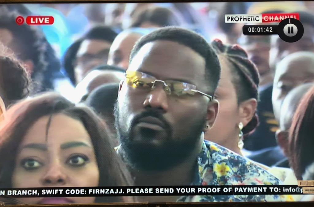 The Nyau king spotted at ecg church of shepherd bushiri