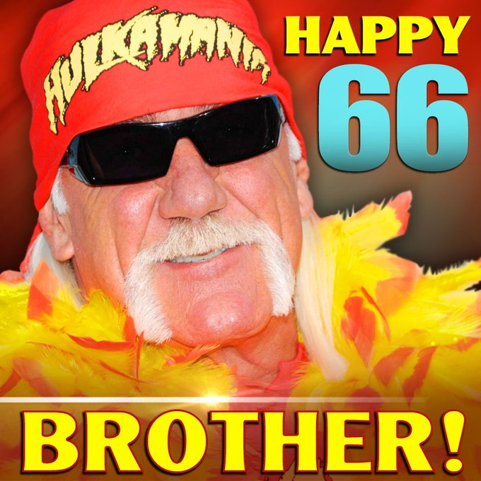 Happy Birthday to Hulk Hogan, who turns 66 today!