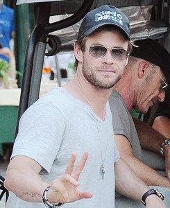 Happy birthday to Chris Hemsworth