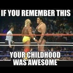 Happy Birthday to Hulk Hogan!! Do you remember this classic match?
