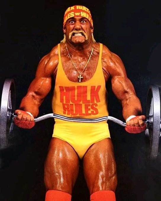 Happy Birthday to the greatest WWE legend of all time Hulk Hogan.