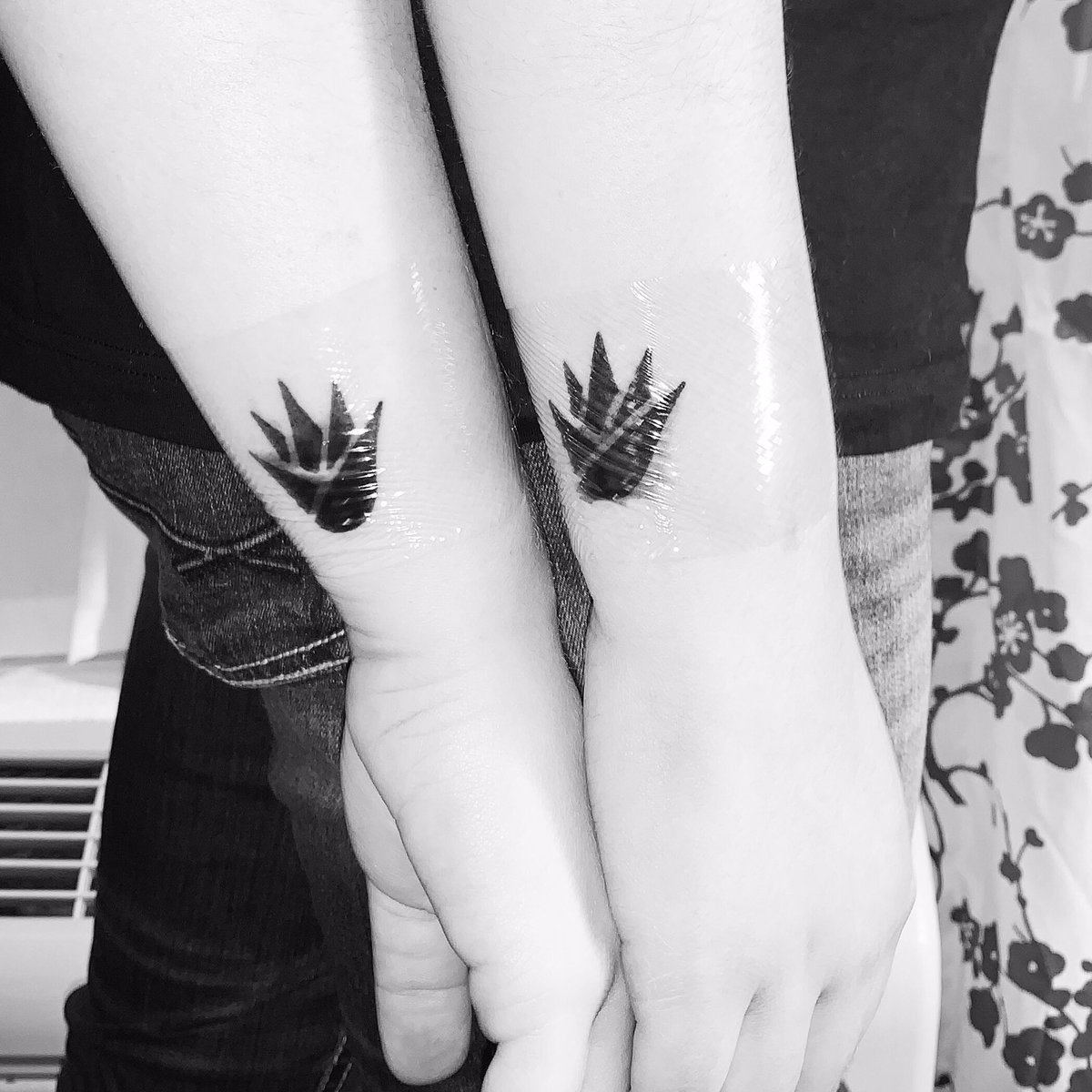 """""""When I taste tequila""""- @danandshay We got friendship tattoos last tonight and we seriously couldn't have picked a better tattoo to symbolize our friendship. I love these girls to death and now we are stamped for life. @dansmyers @ShayMooney @JalenaPerez"""