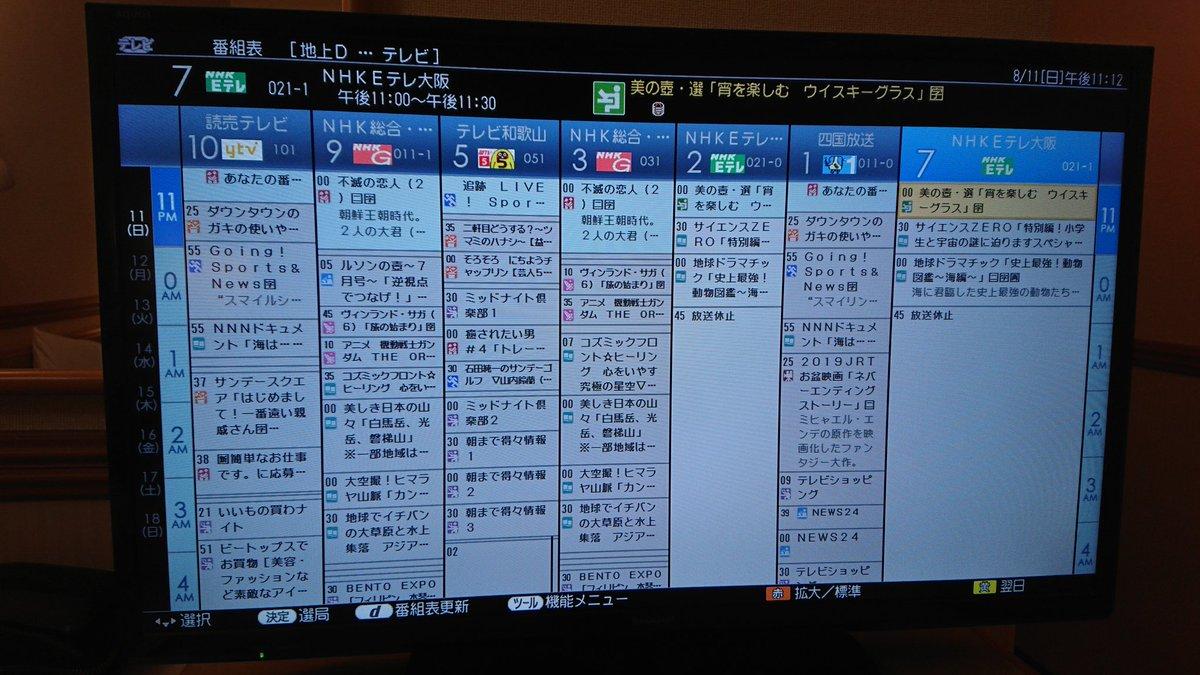 表 番組 の 関西 テレビ