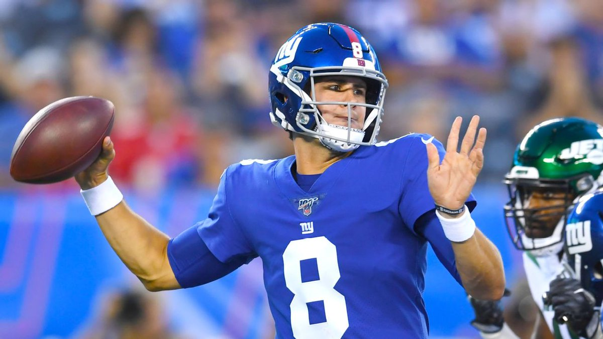 ICYMI: @ConnorJRogers joined @AnitaMarks   What is going on with Antonio Brown. Plus, the debate over whether or not Daniel Jones should start over Eli Manning.   LISTEN: https://t.co/BgC52ZIZ2P https://t.co/wu4TfVw3zu